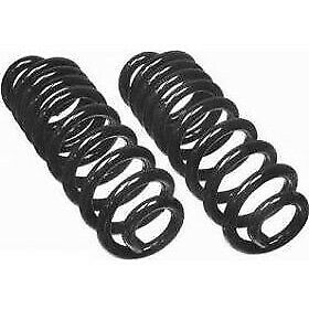 Cc507 Moog Coil Springs Set Of 2 Rear New For Chevy Olds Cutlass Coupe Gmc Pair
