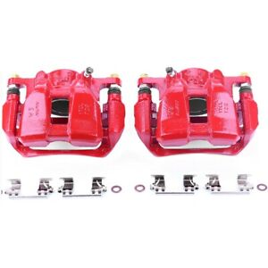 S7106 Powerstop 2 wheel Set Brake Calipers Front Driver Passenger Side Lh Rh