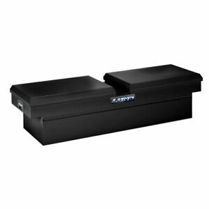 Lund 86451 70 Inch Cross Bed Truck Tool Box Black Steel New