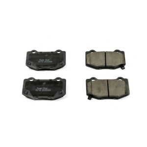 16 1718 Powerstop 2 wheel Set Brake Pad Sets Rear New For Chevy Ford Mustang Ats