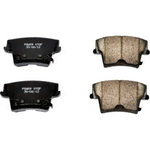 16 1057 Powerstop Brake Pad Sets 2 wheel Set Rear New For Chrysler 300 Charger