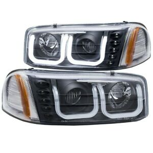 111303 Anzo Headlight Lamp Driver Passenger Side New For Yukon Lh Rh Gmc 99 06