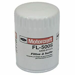 Fl 500s Motorcraft Oil Filter New For Chevy Ram Truck F150 Ford F 150 Chevrolet