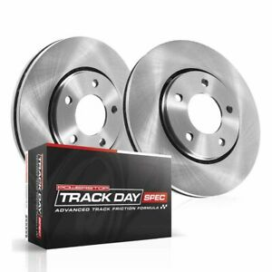 Tdsk5784 Powerstop 2 wheel Set Brake Disc And Pad Kits Front New For Mini Cooper
