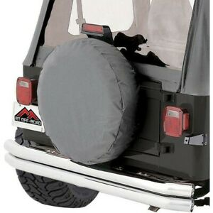 Tc272909 Rt Off Road Spare Tire Cover New For Jeep Wrangler Cj7 Cj5 Willys Cj6