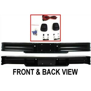 20000 Fey Step Bumper Face Bar Rear New For Chevy Ram Truck F150 Styleside F 150