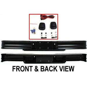 20000 Fey Step Bumper Face Bar Rear New For Chevy Styleside 96 0 In C10 K10 K20