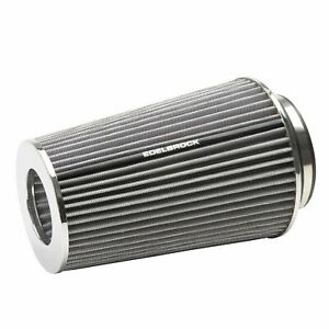 Edelbrock 43692 Pro Flo White Tall Conical Air Filter With 3 3 5 And 4 Inlet