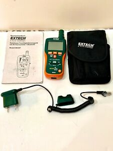 Extech Mo297 Pinless Moisture Psychrometer Ir Thermometer And Bluetooth more