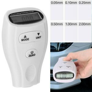 Digital Film Thickness Meter Car Paint Thickness Tester Coating Thickness Gauge