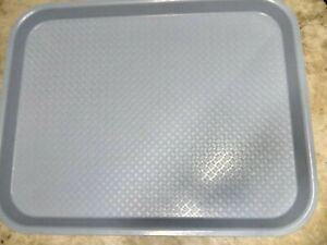 Serving Trays Blue Plastic Fast Food Tray 14 X 18 Inch Set Of 16