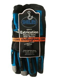 Shelby Rescue Extrication Gloves Fireman Firefighter Fire Dept Size Jumbo
