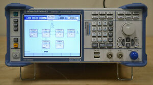 Rohde Schwarz Smbv100a Vector Signal Generator 9khz 6ghz W options Calibrated