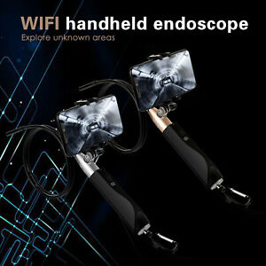 8mm Hd 1080p Wifi Handheld Endoscope Waterproof Wireless Inspection Camera