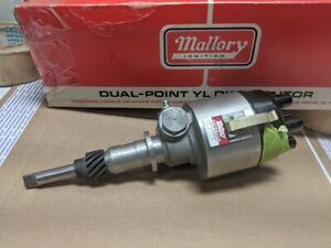 Mallory Dual point Yl Distributor Yl481a Waukesha New Holland Ford Adco Tach