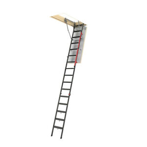 1x Lmp Attic Ladder For Rough Opening 27 5 x56 5 european Size