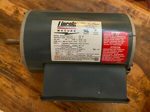 Lincoln 3 Hp Single phase 3450rpm 230v 56h Frame Odp Electric Motor