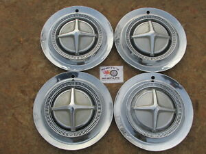 1962 1963 Dodge Dart 440 880 Polara 500 14 Wheel Covers Hubcaps Set Of 4