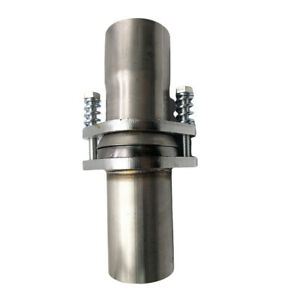 3 Inch Id Stainless Exhaust Spherical Joint Spring Bolt Flange Pipe Repair