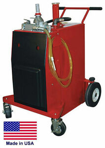 Gas Fuel Caddy Commercial 30 Gallon Ul Osha Approved Air Pump Operation