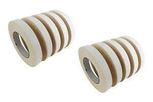 10 Rolls 18 Mm X 33 M Double Stick Sided Tape Woodworking Paper Rubber Adhesive