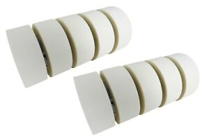 10 Rolls 48 Mm X 33 M Double Stick Sided Tape Woodworking Paper Rubber Adhesive