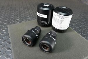 Lot Of Two Leica 10445301 16x 14b Adjustable Eyepieces