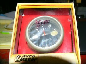Automotive Racing Gauge Autometer Amp 2 5 8 New In Org Box Never Out