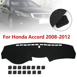 For Honda Accord 8th 2008 09 10 11 2012 Dashmat Dash Mat Dashboard Cover Carpet
