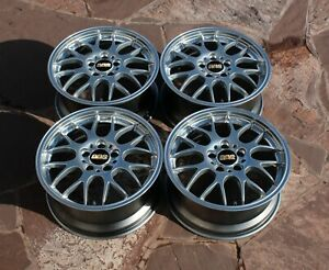 Top Forged Bbs Rg R Rg718h 17 Inch 5x112 8j Et 35 Wheels Light Rs Audi Benz