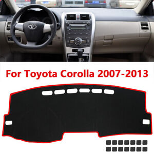 Fits For Toyota Corolla Model 2007 2013 Truck Car Dash Cover Mat Dashboard Pad