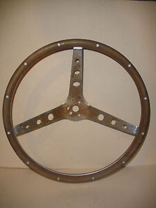 Vintage Steering Woodwheel Wood Wheel 15 For 1966 Mustang