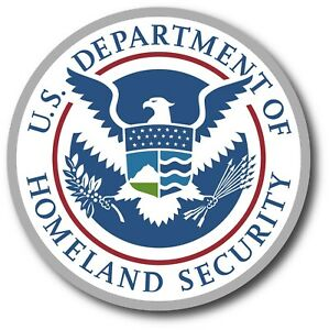 Department Of Homeland Security Decal Sticker Usa Vehicle Car Window Wall Parody
