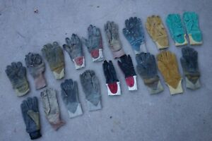 Structural wildland Firefighting Gloves Mismatched xl xs lot Of 19