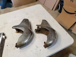 1957 Chevy Accessory Front Bumper Guard Set