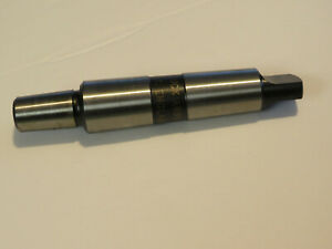 Jacobs 3 Mt Morse Taper To No 6jt Drill Chuck Arbor Ao306 7318 Made In England