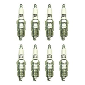 Set Of 8 3018 Champion Platinum Spark Plugs For Ford F 150 Mustang Camaro