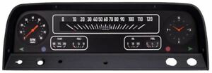 Classic Instruments Electric Gauges Black 1964 1966 Chevrolet Pickup Truck
