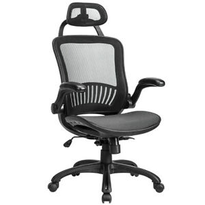 Ergonomic Office Chair High Back Swivel Mesh Chair Computer Desk Task 9061