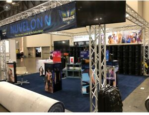 Trade Show Booth Display 20 x20 Truss