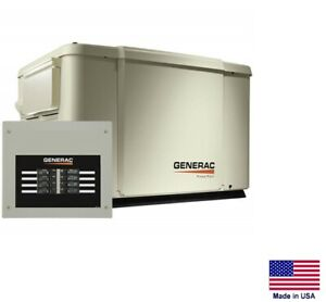 Standby Generator Residential 7 5 Kw Ng Lp With 50 Amp Transfer Switch
