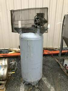 Ingersoll rand 2340l5 5hp 60 Gallon Reciprocating Air Compressor Tank motor