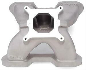 Edelbrock 28469 Victor Manifold Fits Small Chevy V8 That Have 18 Degee Heads