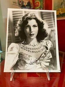 Coca Cola 1930s Frances Dee Signed Autographed Photo From Allan Petretti