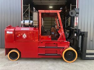 Taylor 40 000lb Cushion Tire Propane Forklift Tc400l
