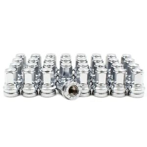 32 Chrome Factory Style Lug Nuts M14x1 50 For F 250 Replacement Hcpz 1012 b