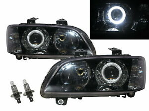 G8 2008 2009 Guide Led Angel eye Projector Headlight Black For Pontiac Lhd