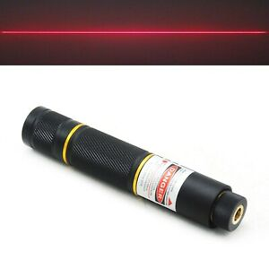 Portable 650nm Red Focusable Line Laser Locator Module 650t 100 Pointer Type