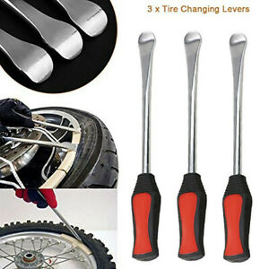 9pc Tire Bike Lever Tool Spoon Motorcycle Change Kit Removal Changers W Case