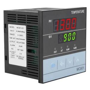 Mc901 Pid Digital Temperature Controller With K Thermocouple Ssr relay Output